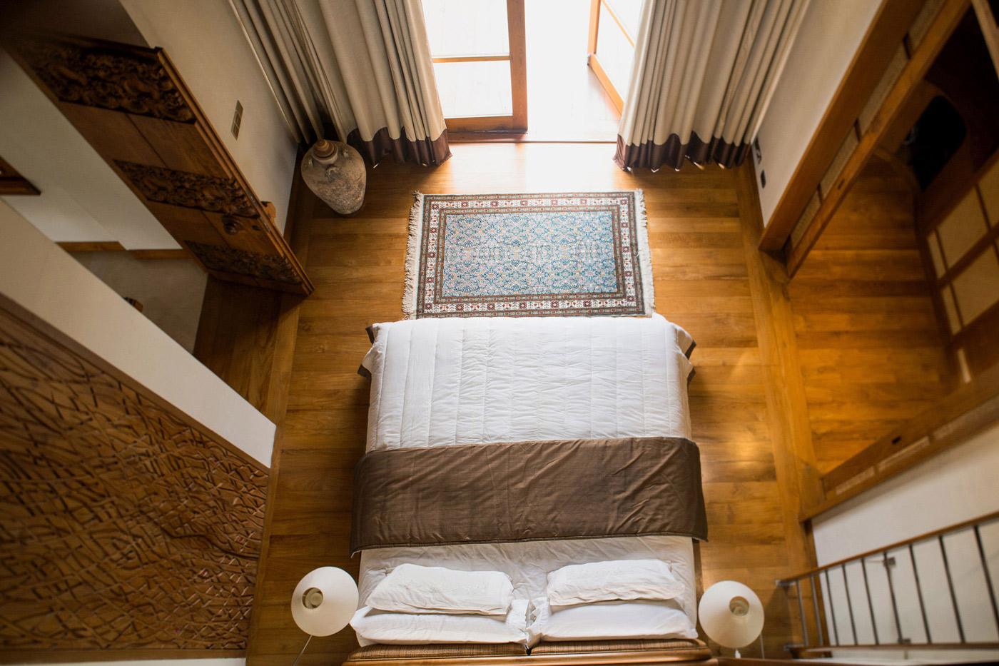 Bedroom, Wooden Flooring, Home in Kuala Lumpur, Malaysia