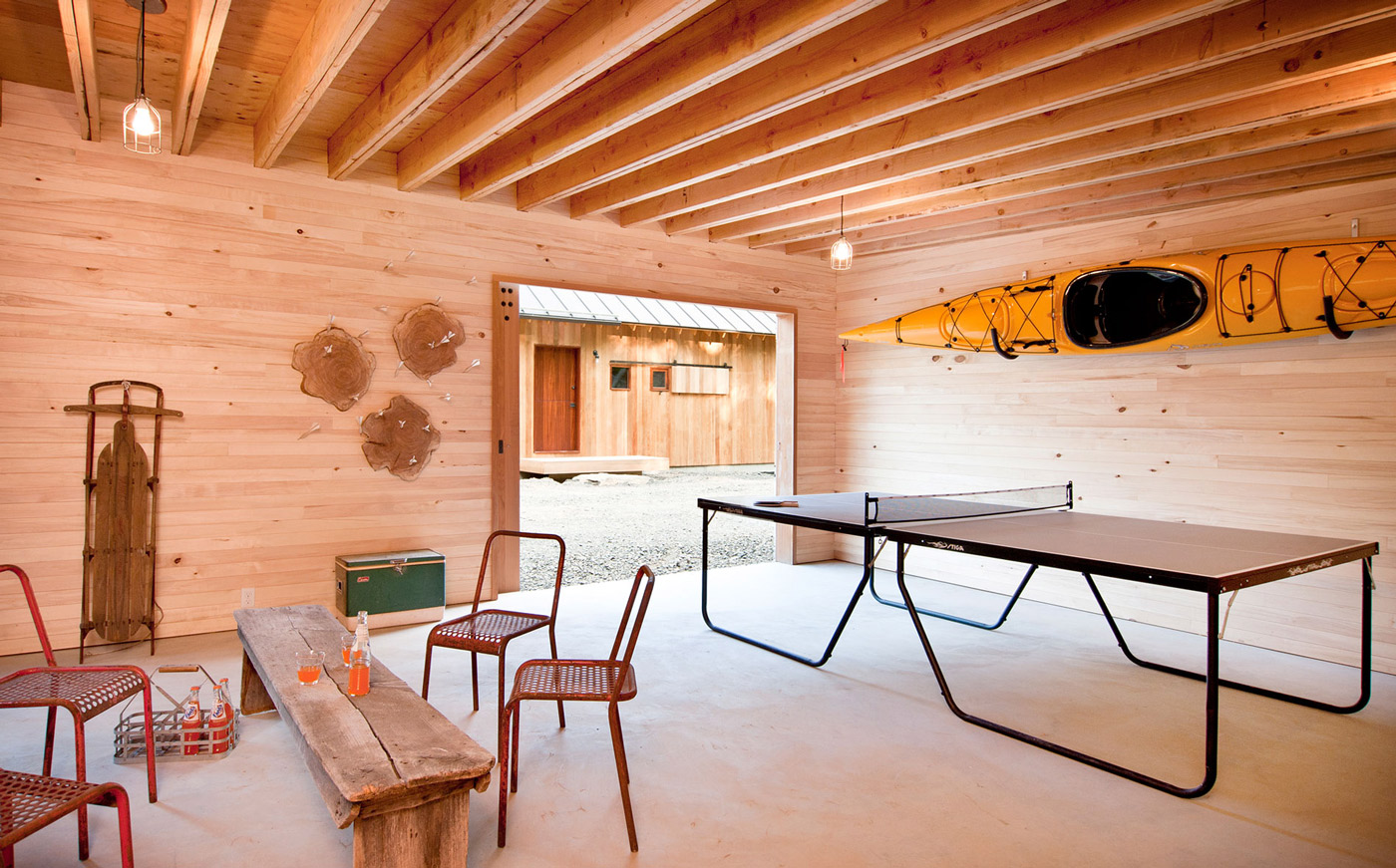 Games Room, Wood and Glass House in Kerhonkson