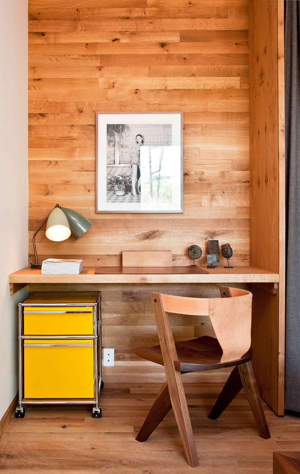 Home Office, Wood and Glass House in Kerhonkson