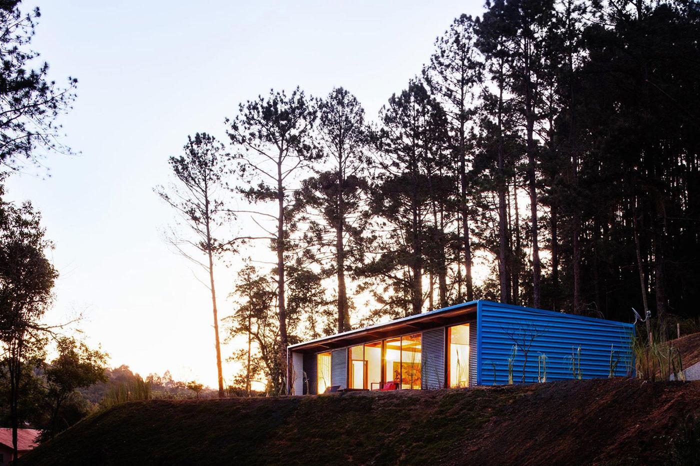 Lighting, Small Summer House in São Roque, Brazil