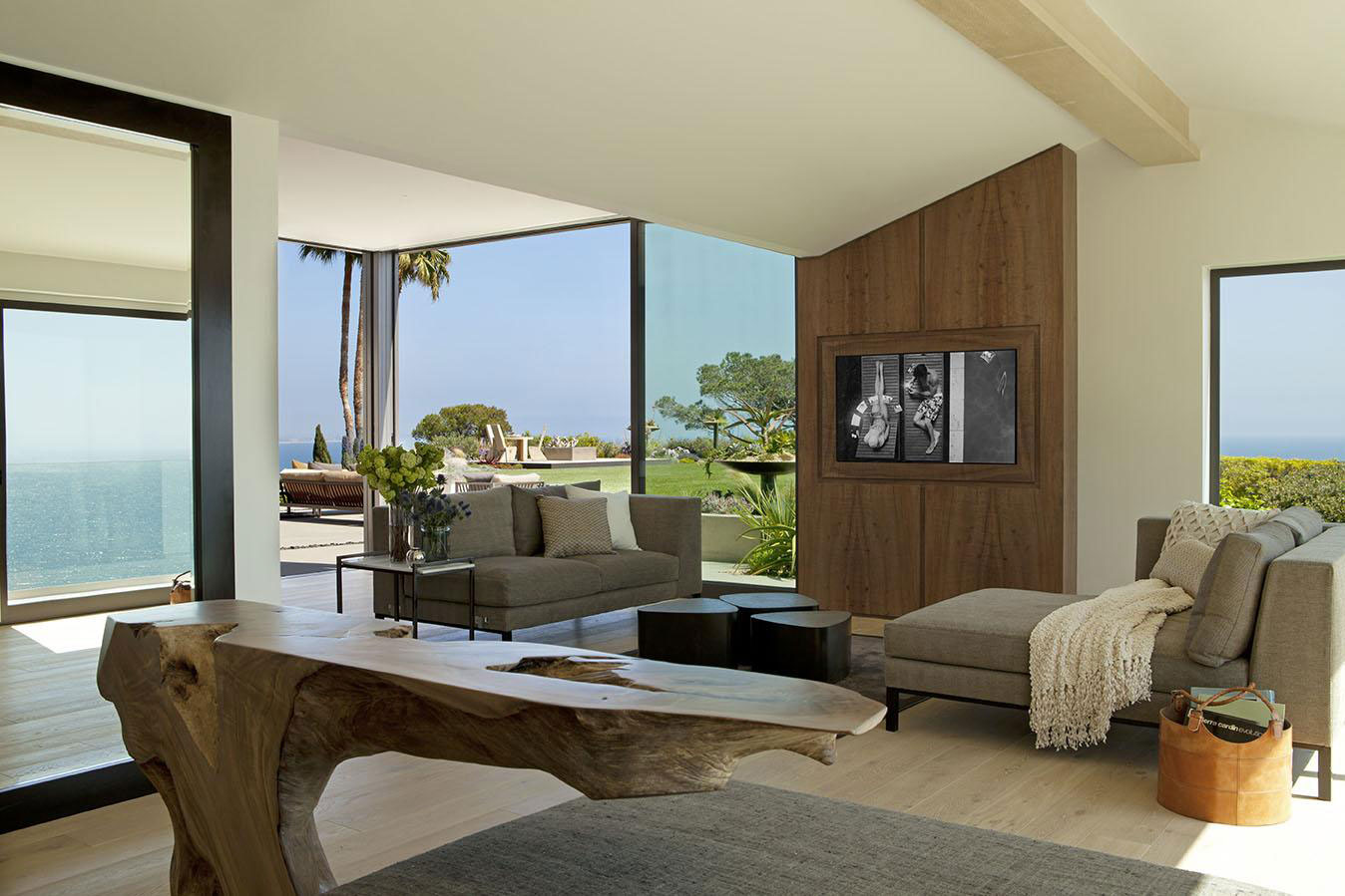 Living Space, Furniture, House in Pacific Palisades, Los Angeles