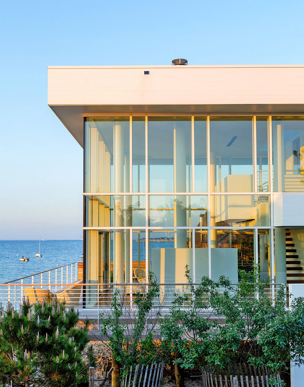 Ocean Views, Glass Walls, Richard Meier's Fire Island House