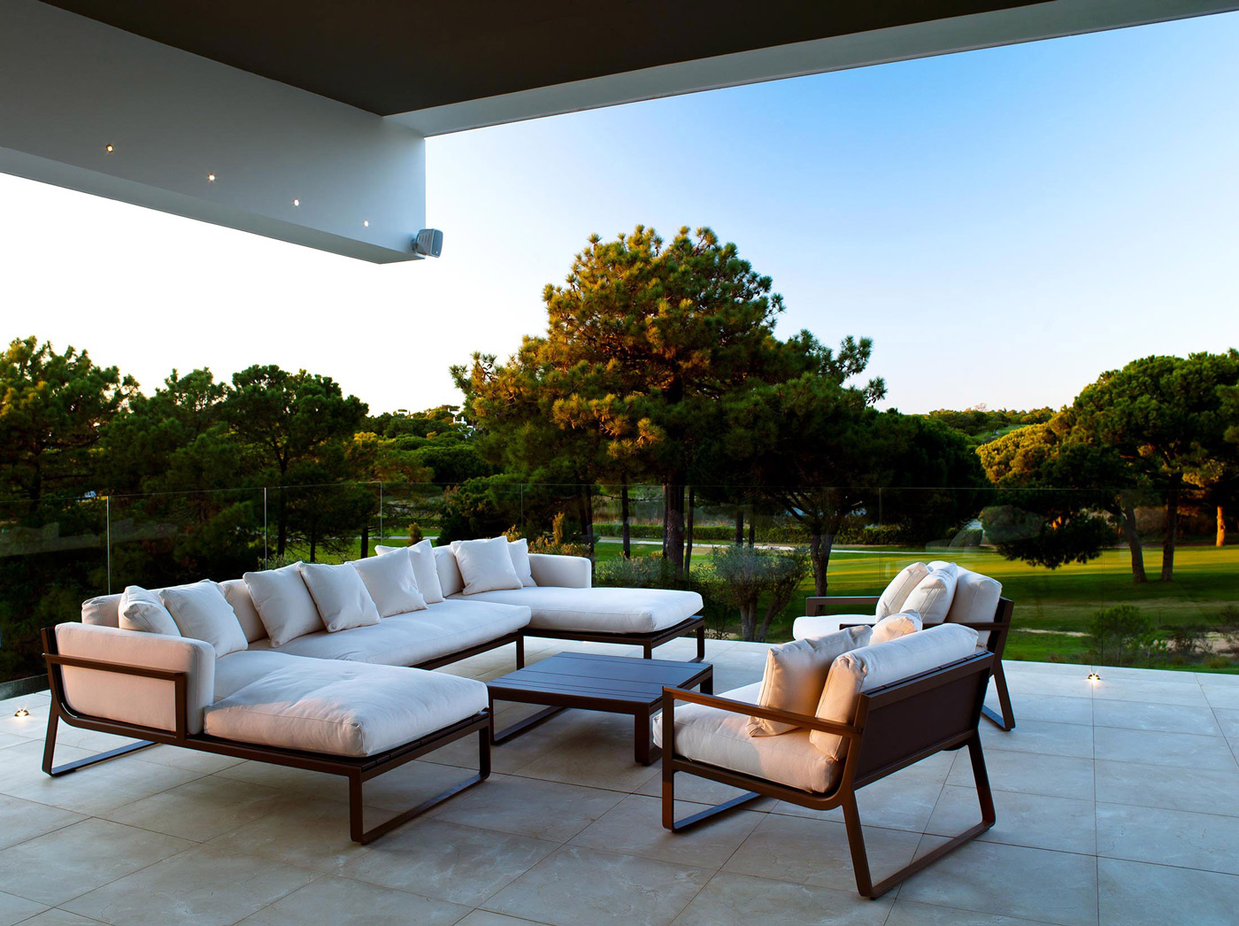 Terrace, Family Home in Portugal