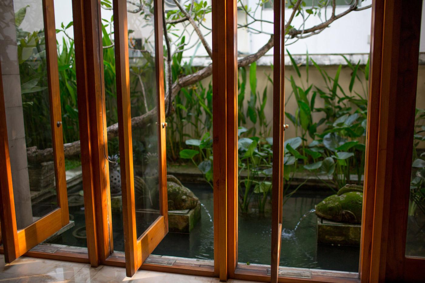 Water Feature, Windows, Home in Kuala Lumpur, Malaysia