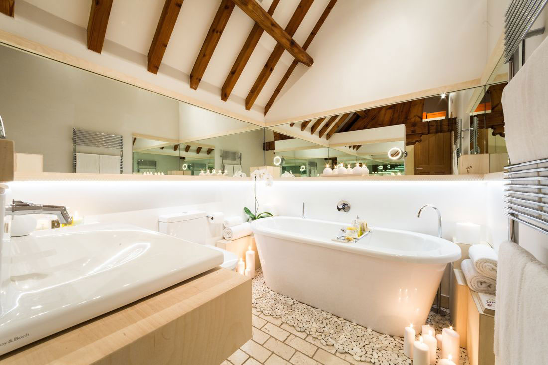 Bath, Sink, Bathroom, Church Conversion in London, England