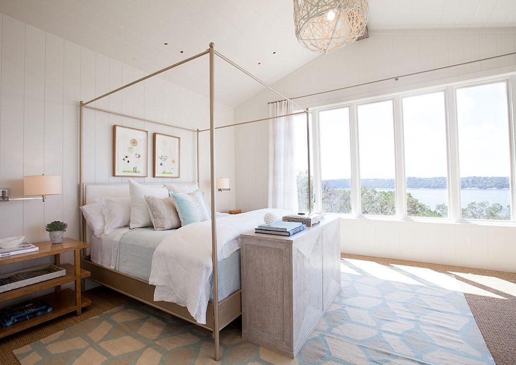 Bedroom, Lake Views
