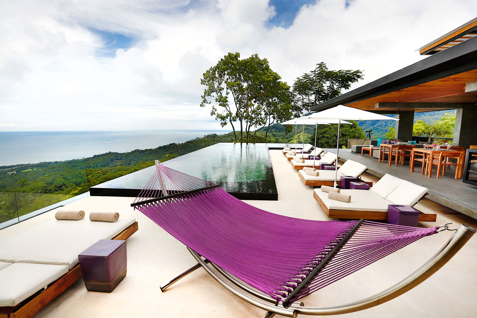 Hammock, Pool, Terrace, Sea Views, Holiday Villas in Costa Rica