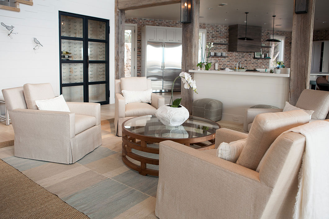 Kitchen, Living Space