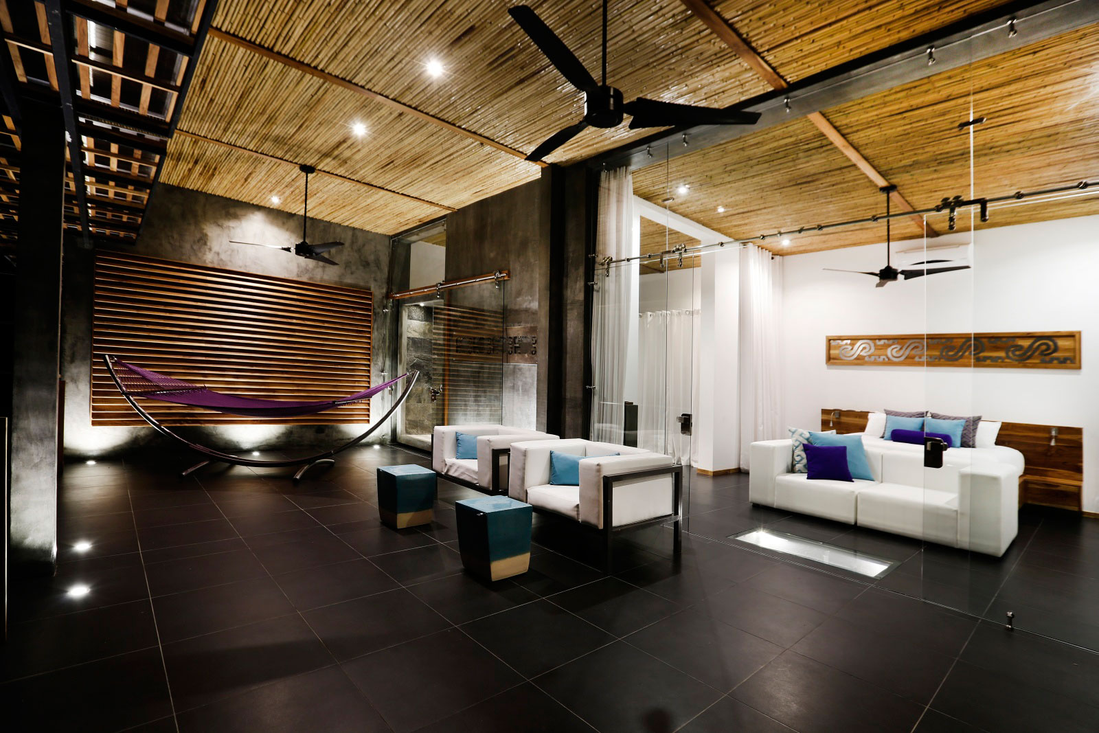 Living Space, Glass Walls, Holiday Villas in Costa Rica