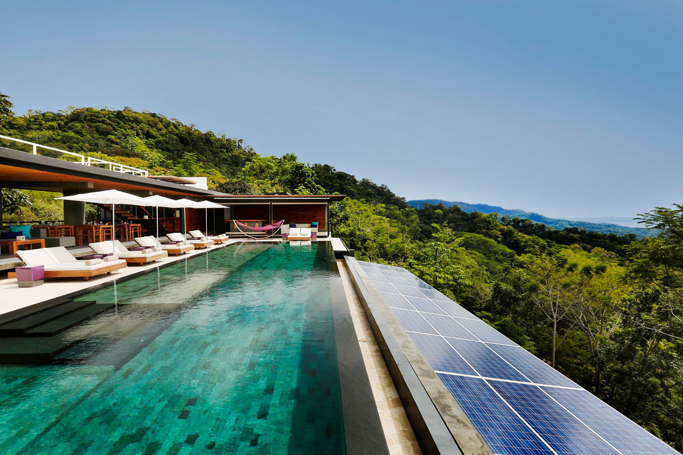 Pool, Solar Panels, Holiday Villas in Costa Rica