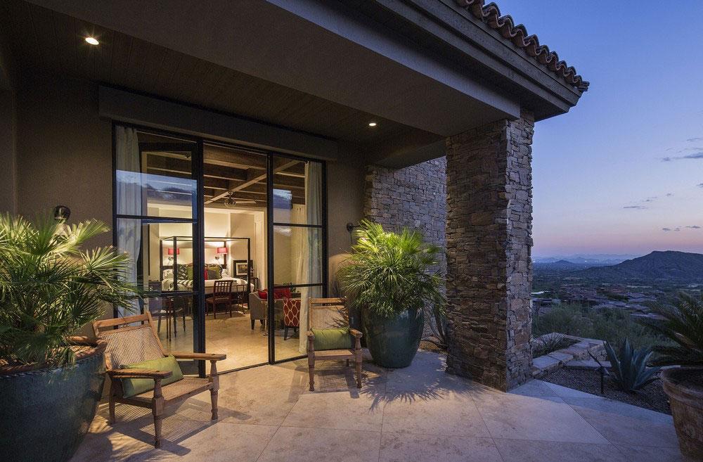 Patio Doors, Terrace