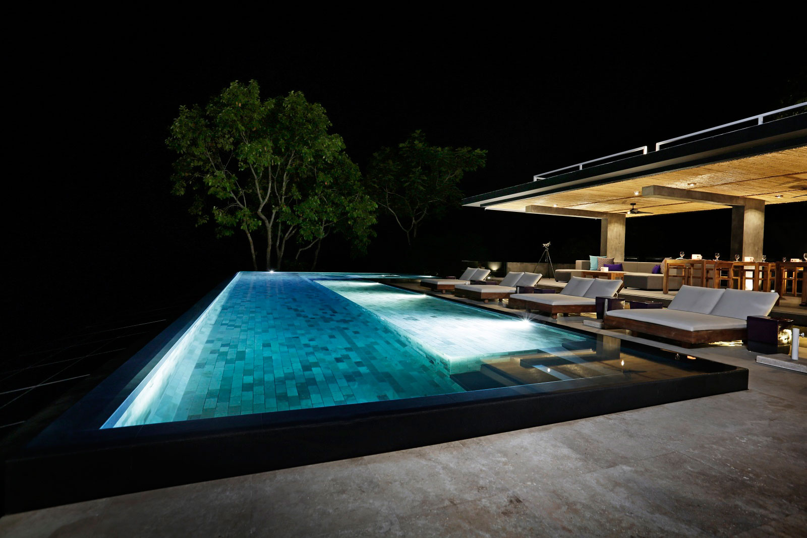 Pool, Lighting, Holiday Villas in Costa Rica