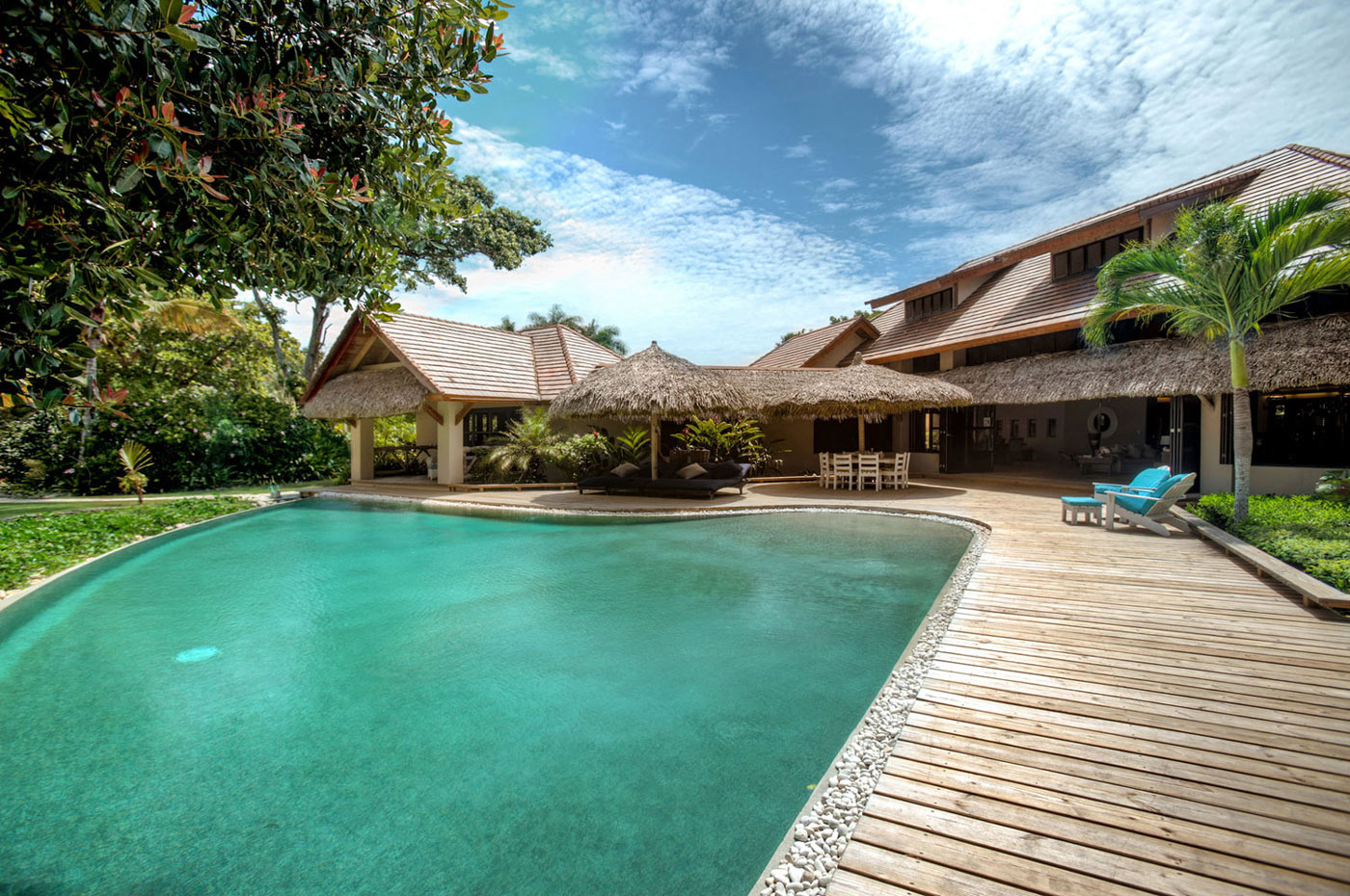Enchanting Beachfront Villa in Sea Horse Ranch, Dominican Republic