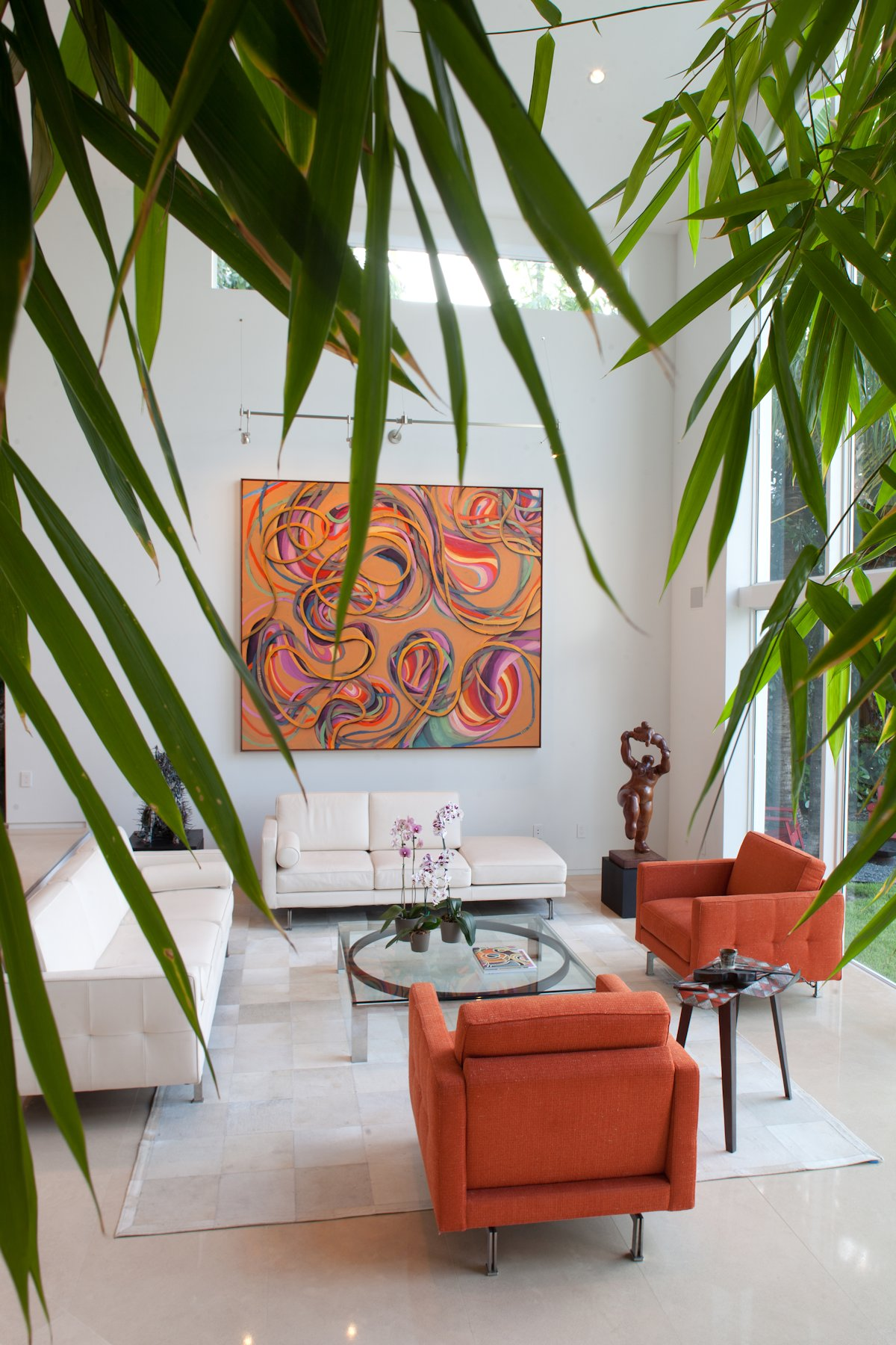 Rug, Sofa, Art, House in Golden Beach, Florida