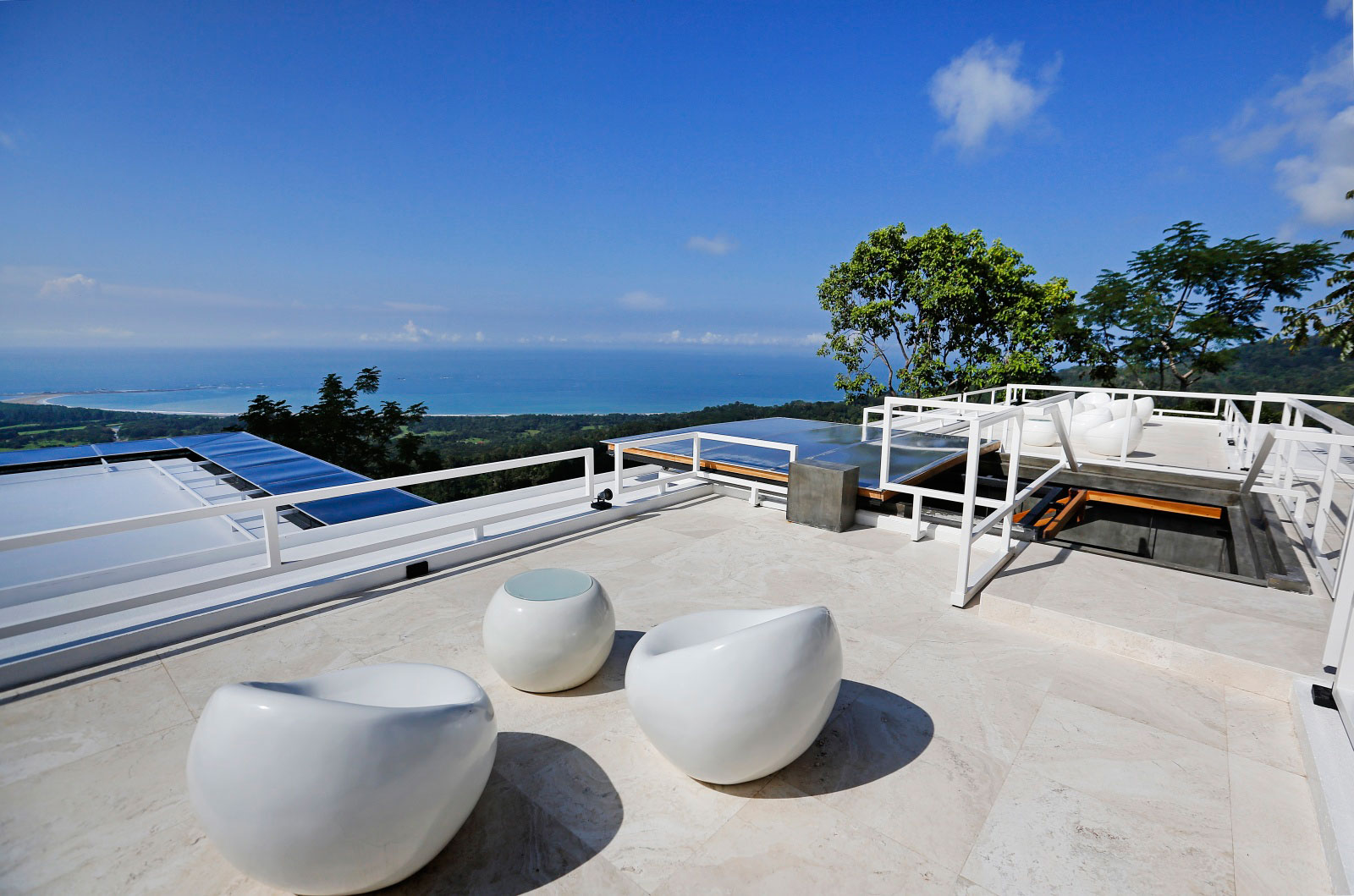 Seating, Roof Terrace, Holiday Villas in Costa Rica
