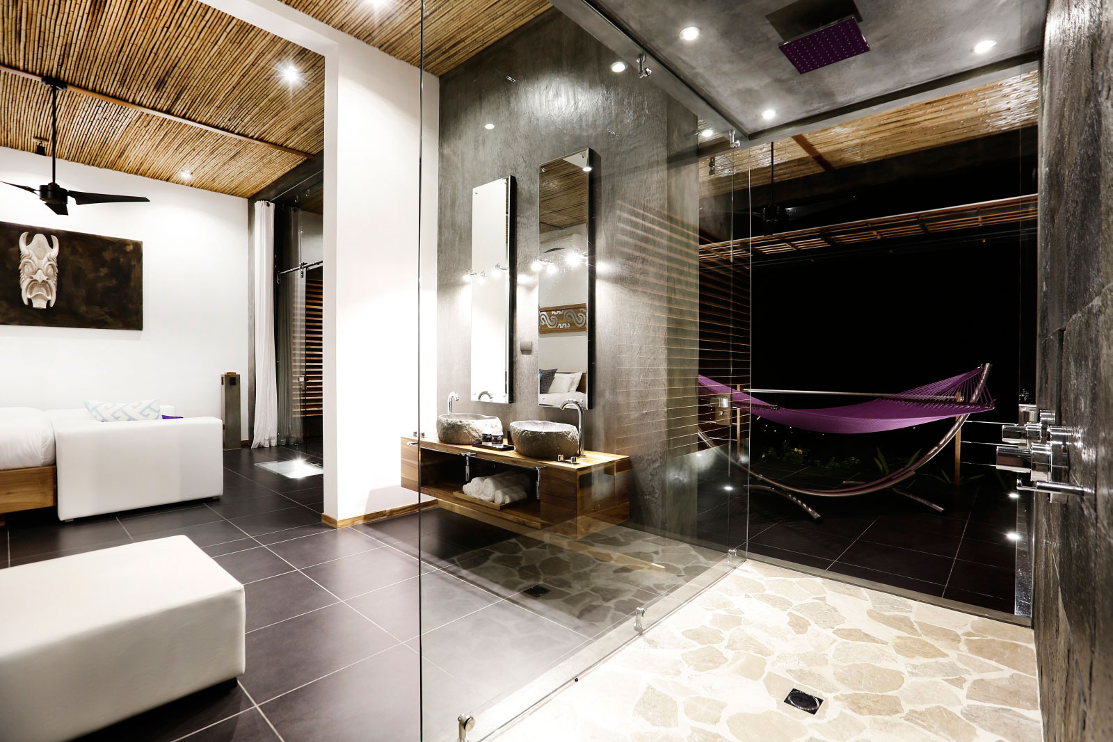 Shower, Holiday Villas in Costa Rica