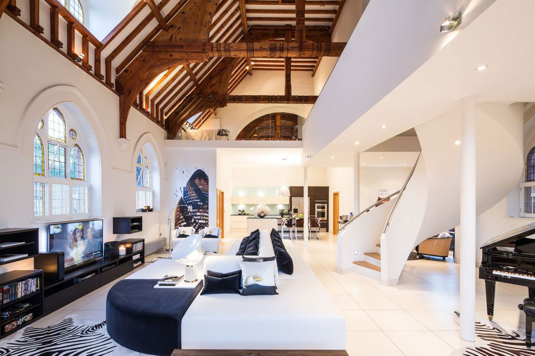 Modern Church Conversion in London, England
