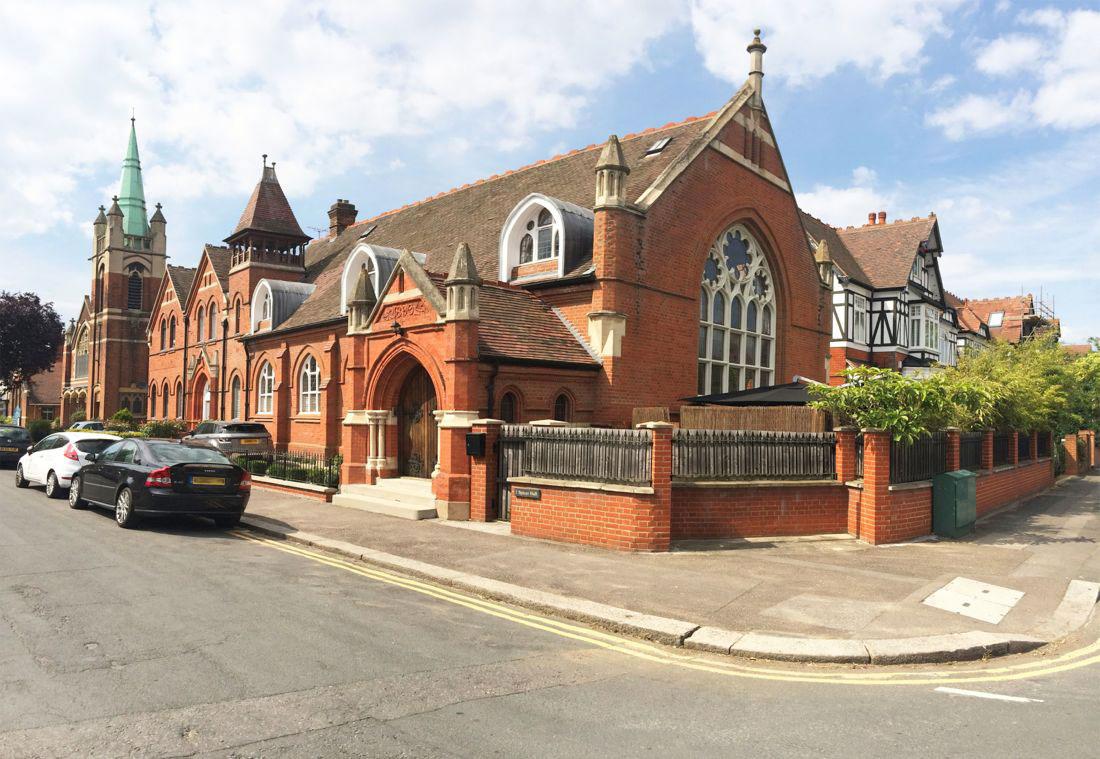 Street View, Church Conversion in London, England