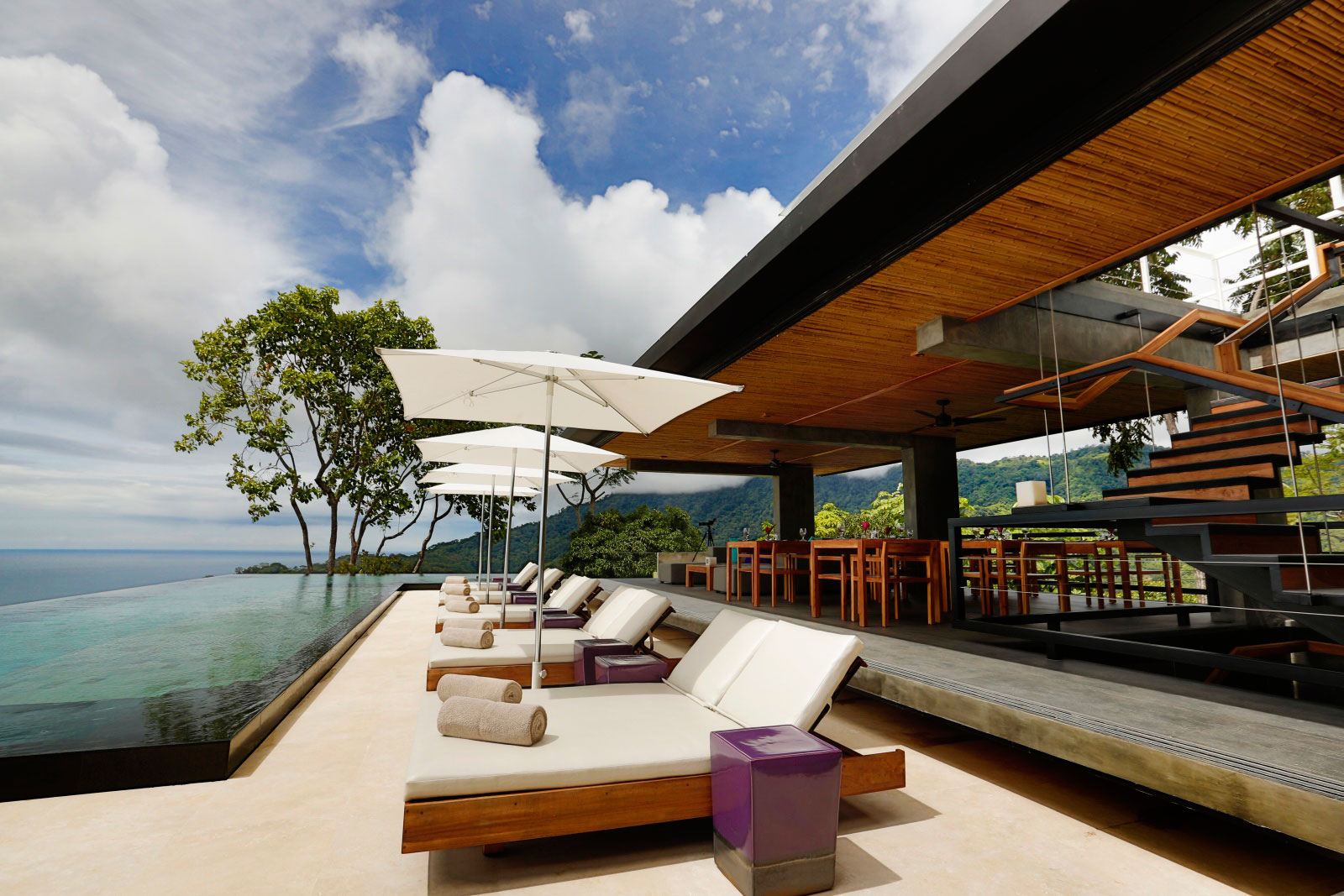 Stunning Terrace, Holiday Villas in Costa Rica