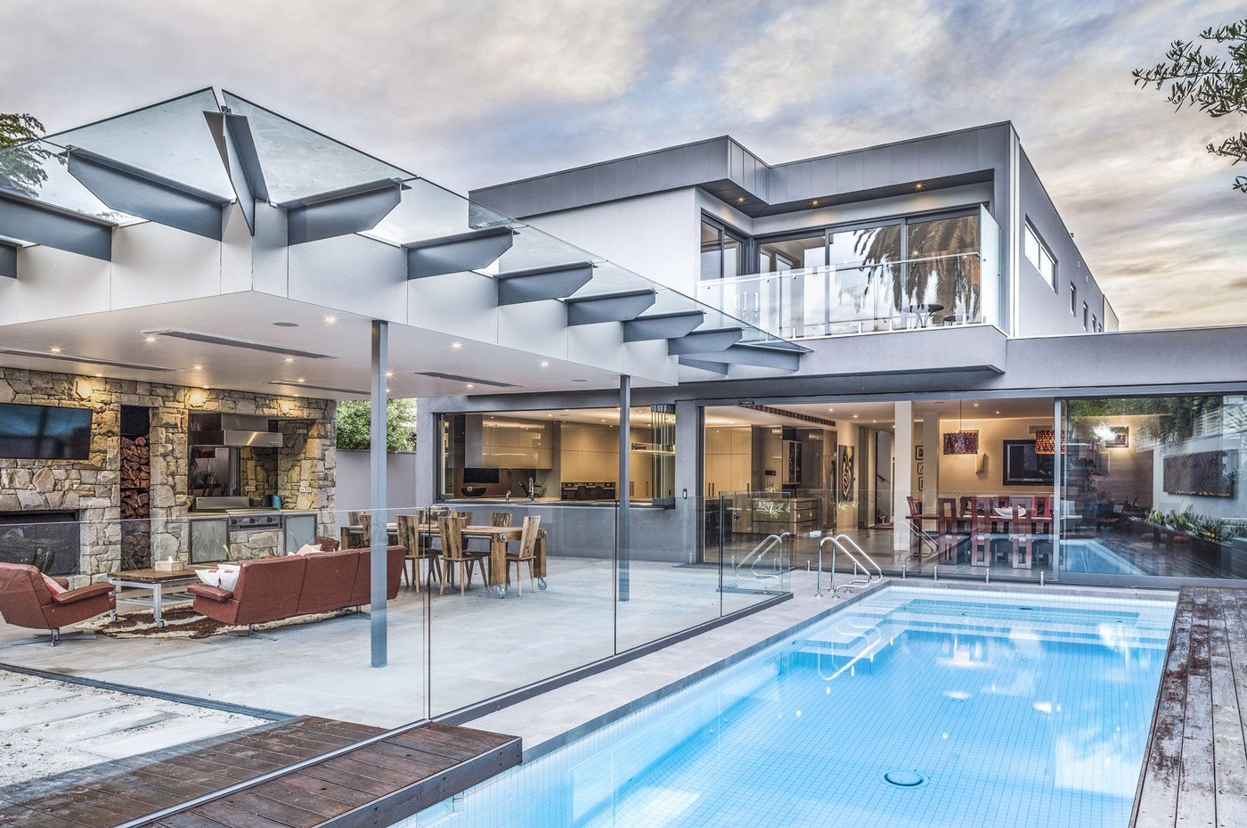 This Gorgeous Modern Family Home Includes Large Open Plan Living