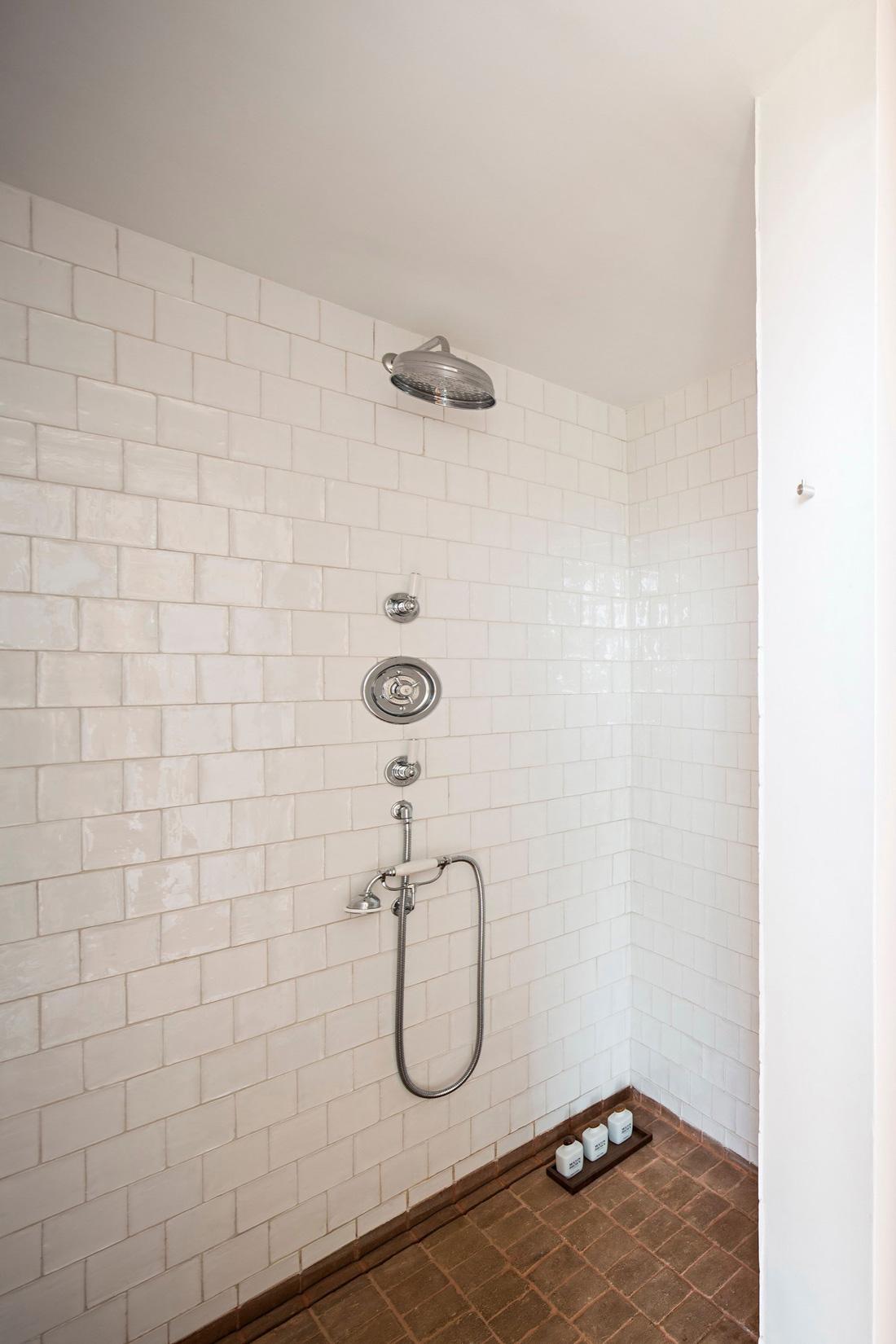 Shower Room, White Tiles