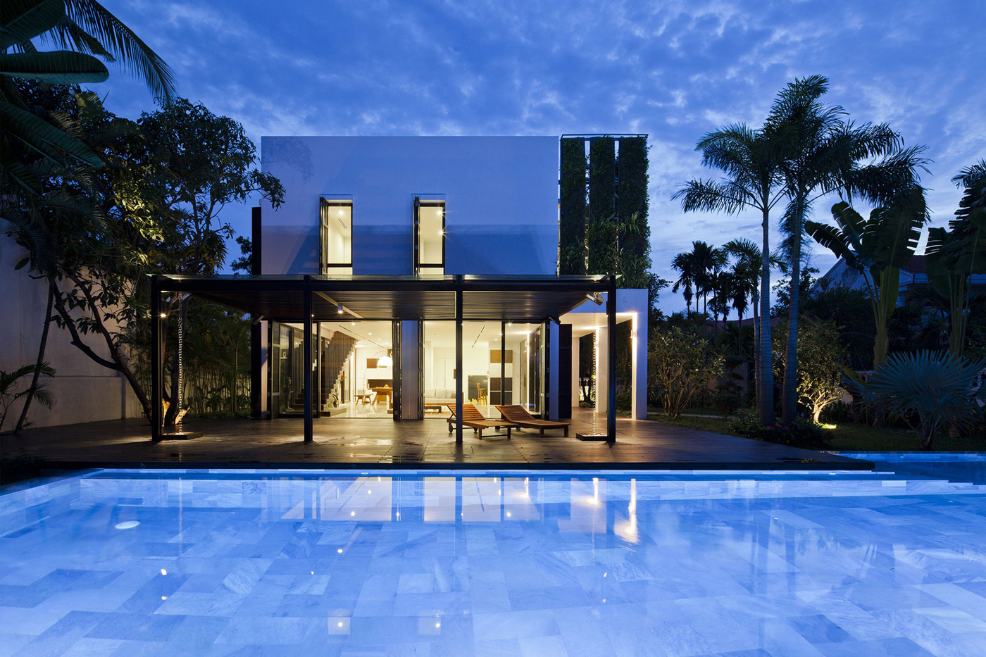 Villa Renovation in Ho Chi Minh, Vietnam