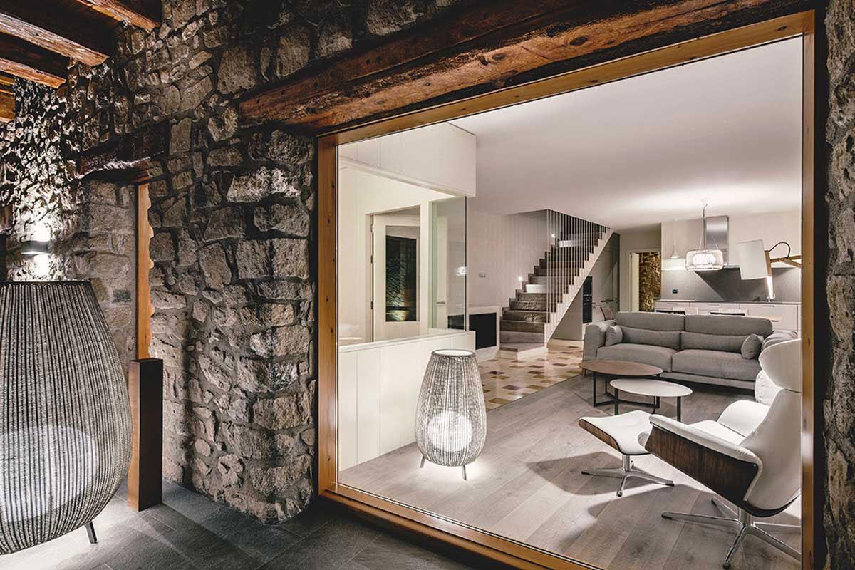 Glass Wall, Living Room