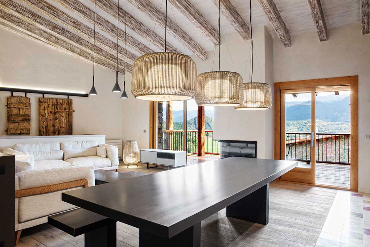Living Dining Space, Lighting