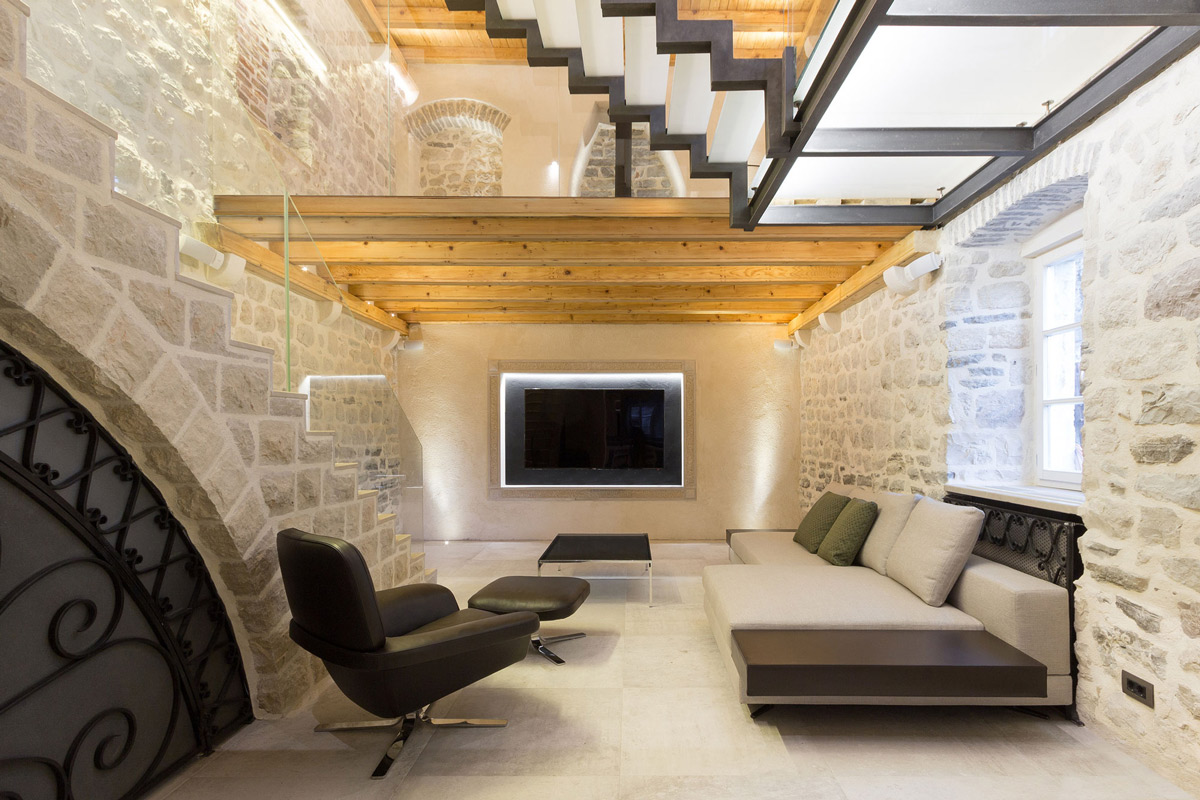 Luxurious Old Stone Villa Renovation in Ljuta, Montenegro