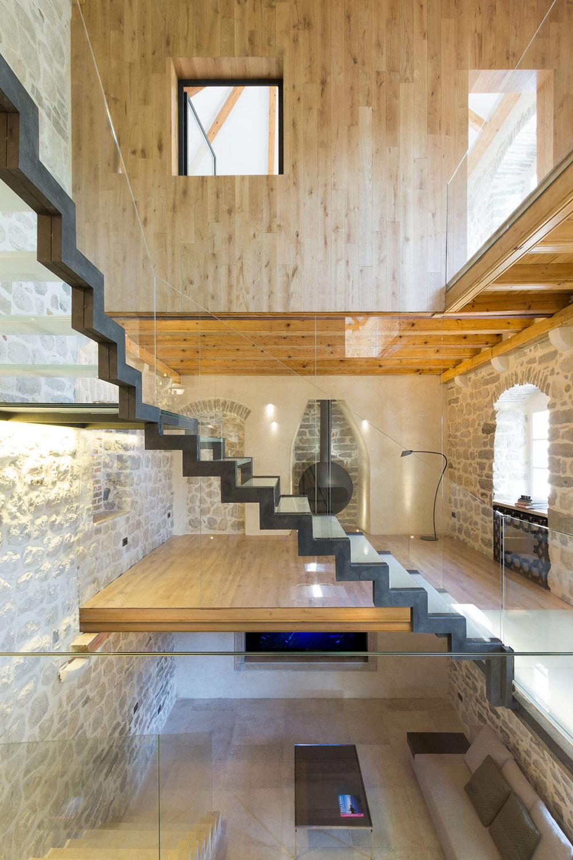 Mezzanine, Glass Balustrading & Stairs