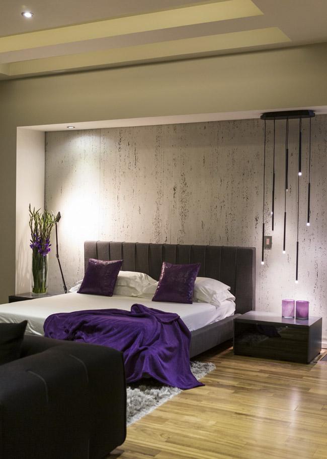 Concrete Wall, Bedroom