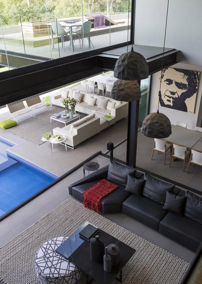 High Ceilings, Living Room