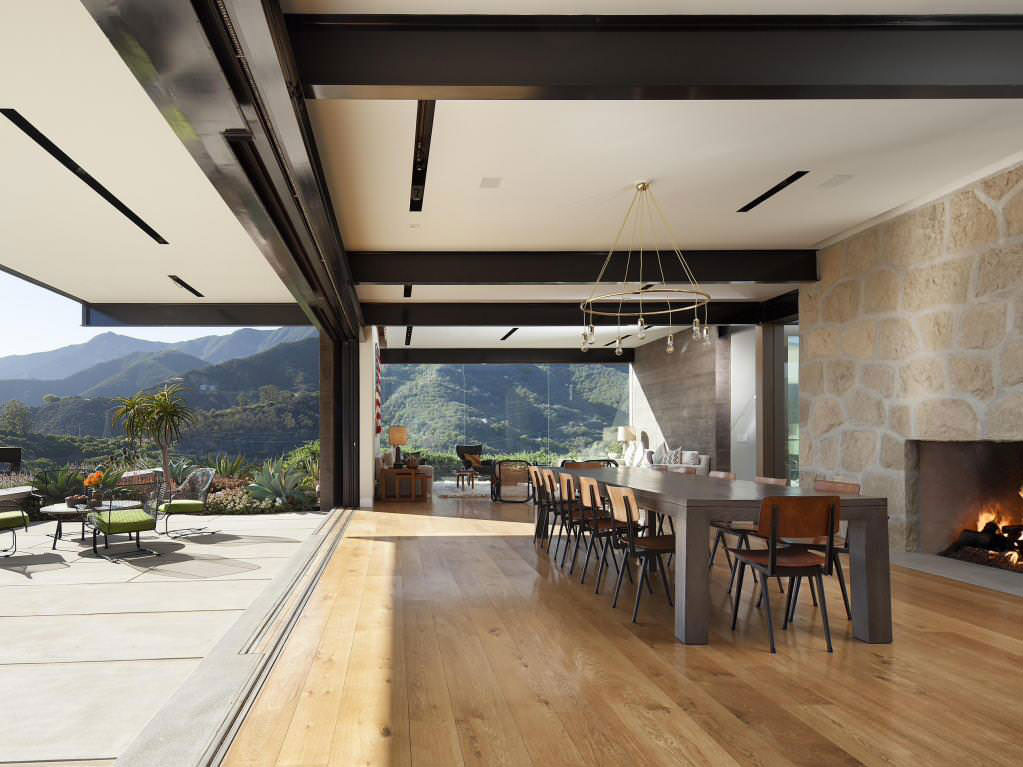 Mountain Home in Toro Canyon, California