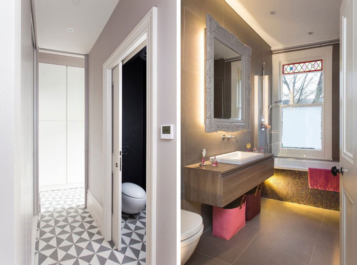 Hall, bathroom