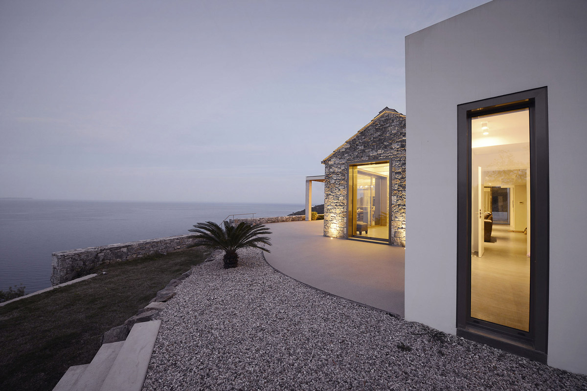 Evening lighting, sea views