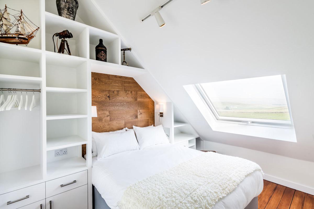 Skylight, bedroom