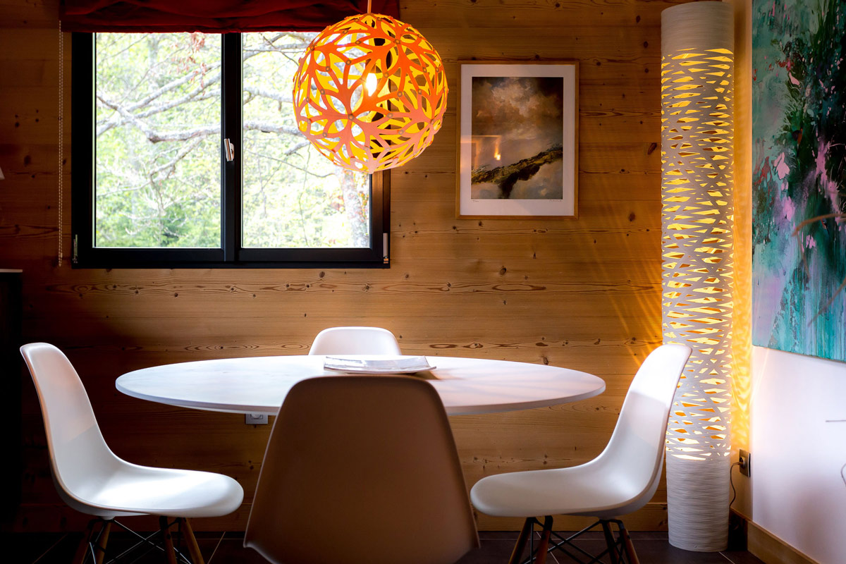 Lighting, breakfast table