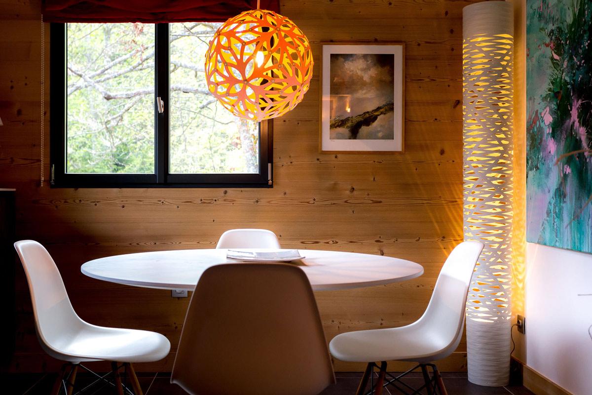 Lighting, breakfast table