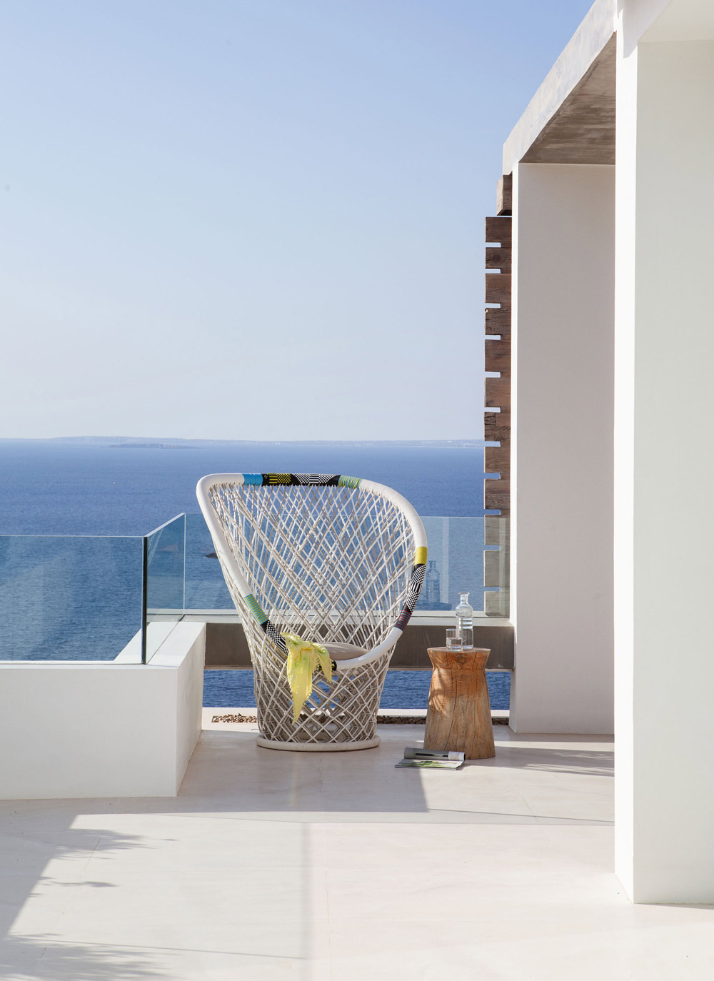 Terrace, Glass Balustrading, Sea View