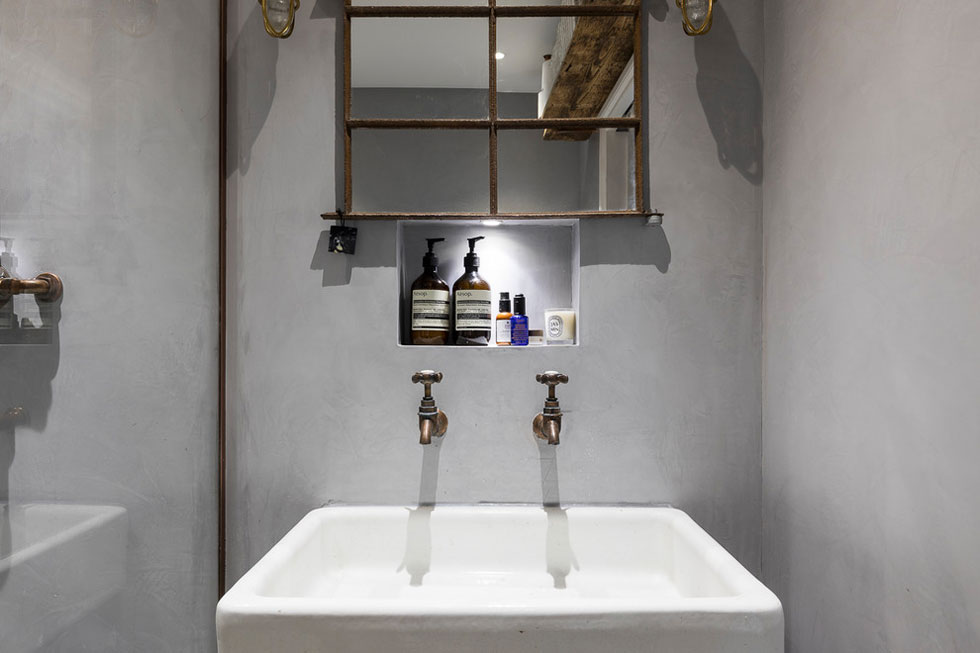 Large industrial style sink