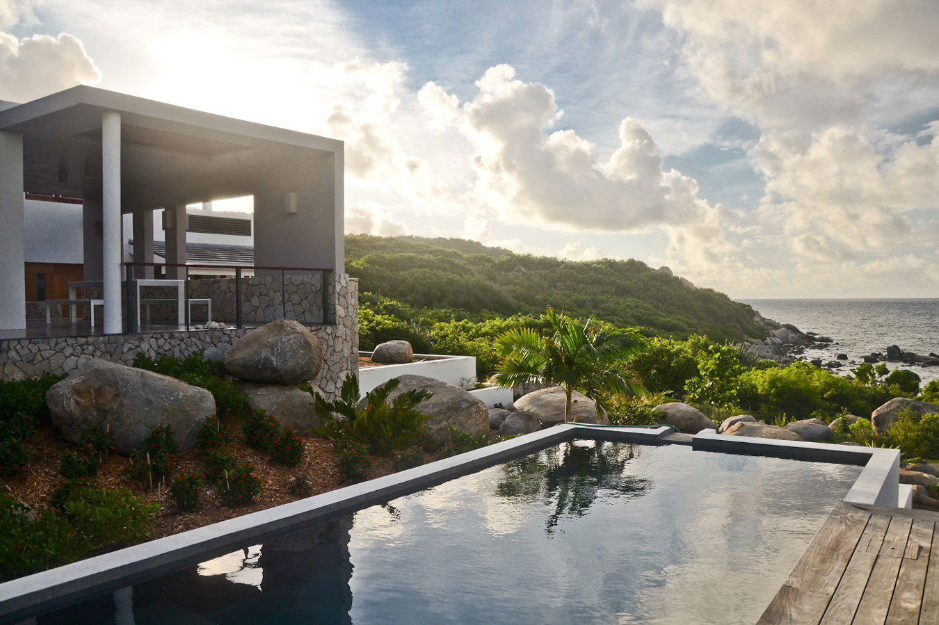Bayhouse Villa on Virgin Gorda, British Virgin Islands